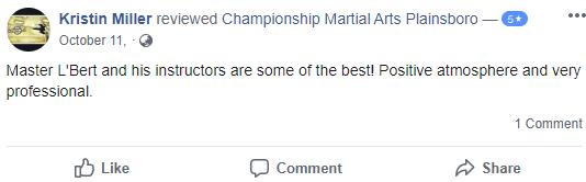 Adult3, Championship Martial Arts Plainsboro NJ
