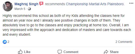 Kids3, Championship Martial Arts Plainsboro NJ